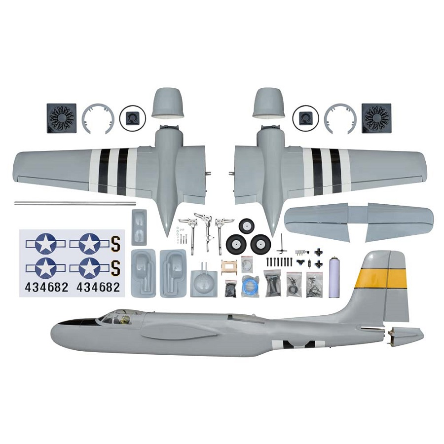 Phoenix Model A-26 Invader .46-.55 ARF (5)
