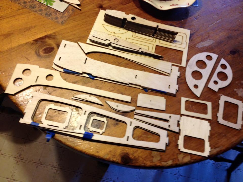laser parts