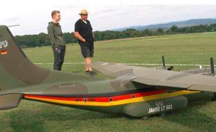 RC Monster-Scale Transall C-160