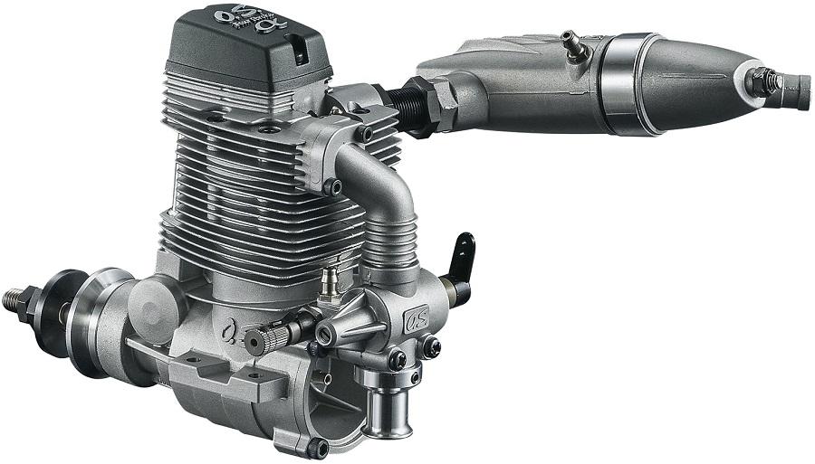 O.S. FSa-56II & FSa-72II 4-Stroke Airplane Engines (2)