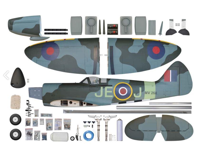 Phoenix Model Spitfire EPGas ARF (2)