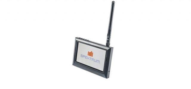 Spektrum 4.3″ FPV Video Monitor With DVR