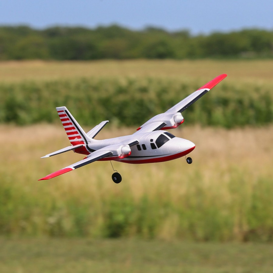 E-flite UMX Aero Commander BNF Basic With AS3X (5)