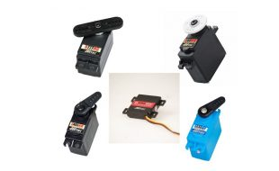Hitec Adds 5 More Servos To New D-Series