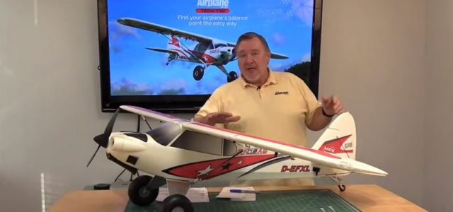 RC Model Airplane Find the Correct Balance Point Video Tip