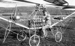 Aviation History Paul Cornu's Flying Bicycle