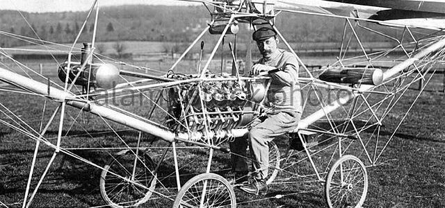 Aviation History Paul Cornu's Flying Bicycle