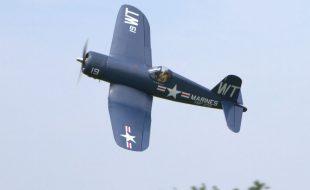 Top Flite Corsair Test Flight