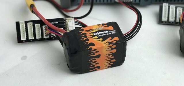 This MaxAmps pack has a whopping 150C charge rate, so it can be charged very quickly.
