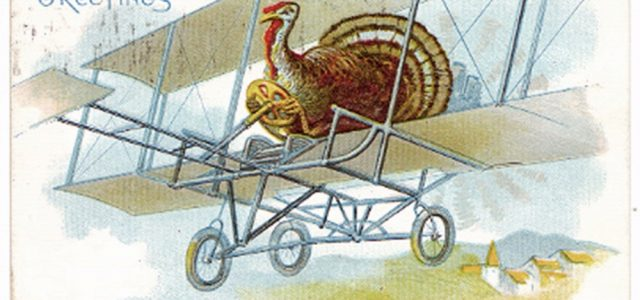turkey on wright flyer