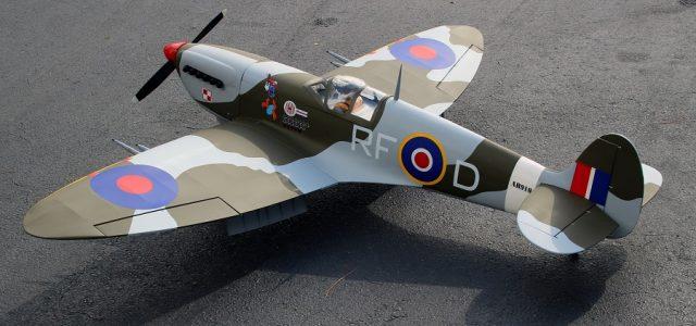 Sky Shark RC Seagull Spitfire