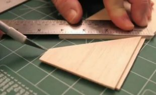 Make Strong Splices in Balsa Sheeting — Video workshop Tips