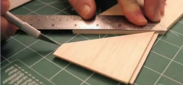 Splicing  Balsa Sheeting — Video RC workshop Tips
