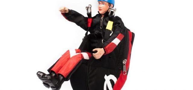 Paraglider Pilot Ben With Harness ARTF