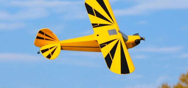 E-flite Clipped Wing Cub 1.2m BNF Basic & PNP [VIDEO]