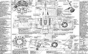 Free Grumman Wildcat 3-Views