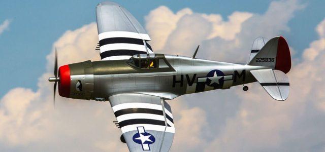 Hangar 9 P-47D Thunderbolt 20cc ARF 67″ [VIDEO]