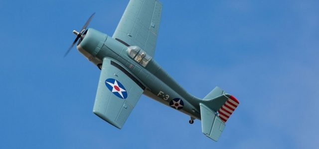ParkZone F4F Wildcat 1.0m PNP & BNF Basic [VIDEO]