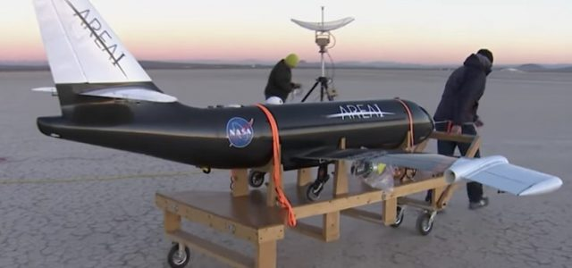 NASA Tests Folding Wings