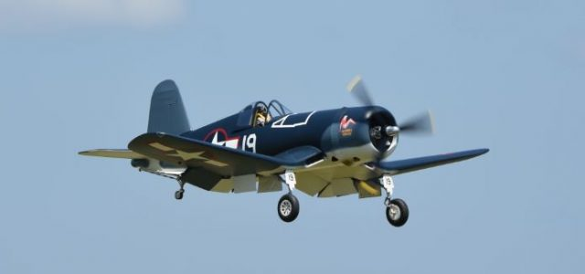 Road to Top Gun — Lou Cetrangelo and his Goodyear FG-1D Corsair