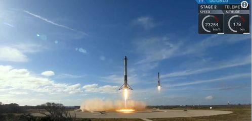 aviation history, spaceX. Falcon Heavy, starman launch
