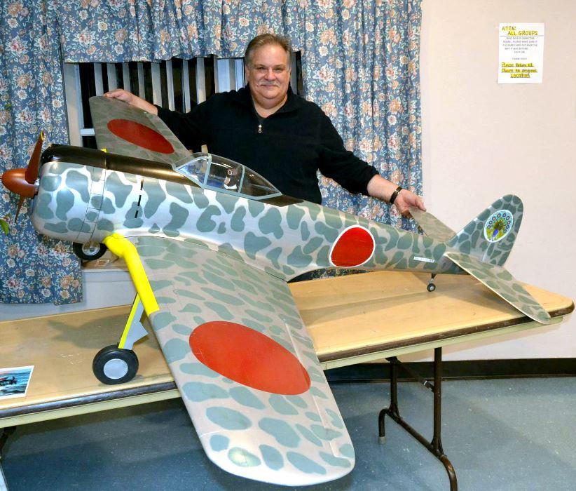 Road to Top Gun, Sal Calvagna, Ki-43 Oscar, RC, model airplane, RC scale, Top Gun, Japanese fighter