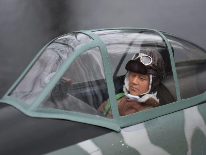 Road to Top Gun, Sal Calvagna, Ki-43 Oscar