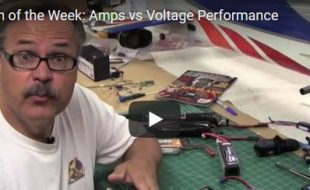 Video Question of the Week: Amps or Volts?
