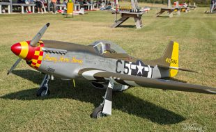 Painting an RC P-51, part 2