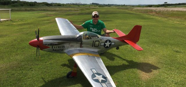 Red Tail P-51D: Fernando Bellegarde Giant Scale Mustang