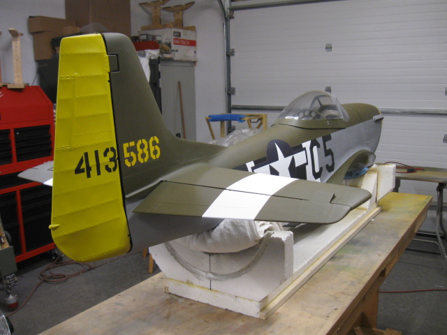 Painting an RC Warbird, Part 4 - Model Airplane News