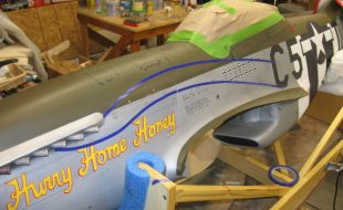 Painting a Warbird, Part 4