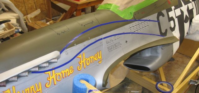 Painting an RC Warbird, Part 4