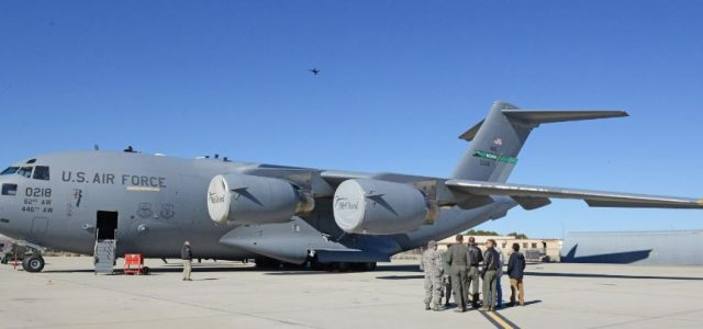 USAF: Drones conducted condition inspections of C-17 Globemaster III