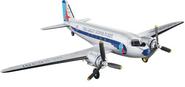 Flyzone Micro DC-3 Airliner RFT [VIDEO]