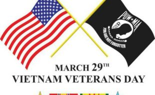 March 29, National Vietnam War Veterans Day