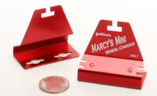 Marcy's Mini  Wheel Chocks for Backyard Flyers — Sullivan Products has you covered