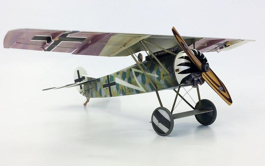Microaces Aero Fokker E.V. Jasta 6 Kit