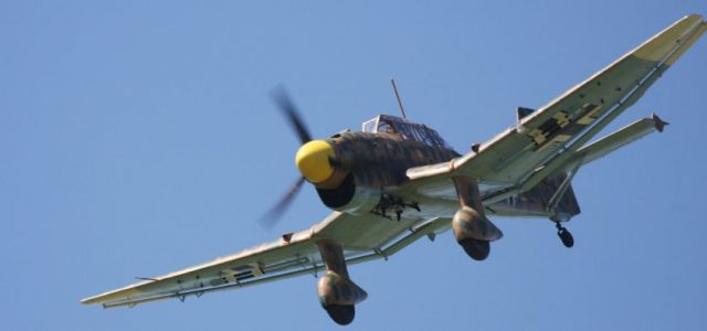 RC Airplanes – Road to Top Gun — Phil Crandon's Junkers Ju 87 Stuka
