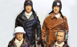 Warbird Pilots goes BIG for WW1 — New Giant Scale Pilot Figures
