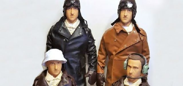 New Giant Scale Pilot Figures