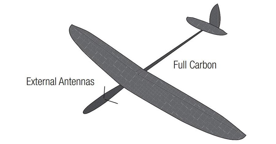 Spektrum DSMX Carbon Fiber Remote Receiver