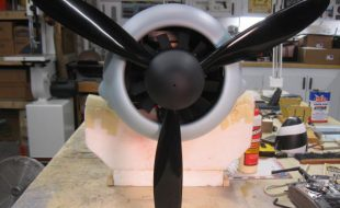 Fitting a Scale RC Fan/Spinner Combo to a 3-Blade Prop