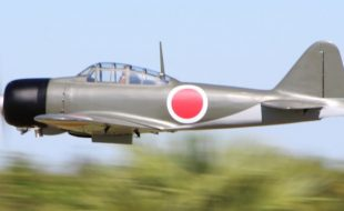 Mitsubishi A6M Zero, Dino Di Giorgio's Road to Top Gun Entry
