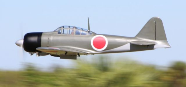 mitsubishi a6m zero, dino di giorgio's road to top gun entry - model