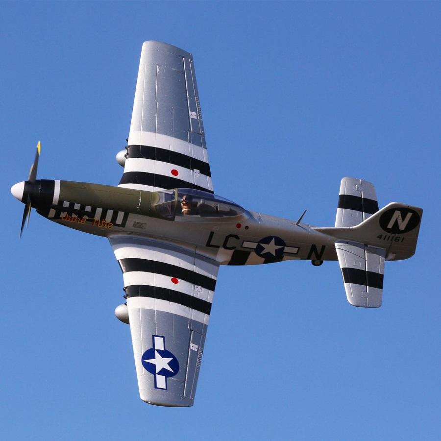 E-flite P-51D Mustang 1.2m BNF Basic