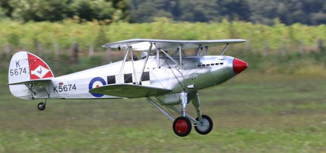 A Really Long Road to Top Gun — 7,851 miles for Gwyn Avenell and his 1/4-scale Hawker Fury.