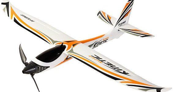 HobbyKing Super Kinetic Sport Glider 815mm (32″) PNF [VIDEO]