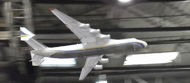 Indoor RC Antonov AN-225