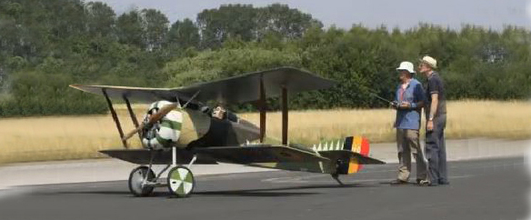 Monster-Scale Hanriot HD.1 — Flight and Detail Video